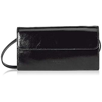 Liebeskind Berlin Glossy SLG - Samantha Crossbody SmallDonnaNero Shoulder Bag (Black) 3x13x23 centimeters (B x H x T)