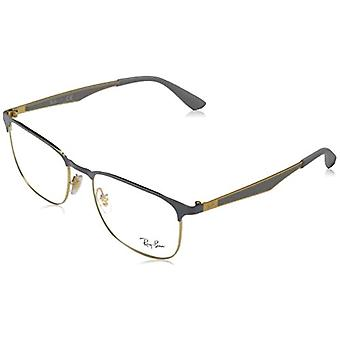 Ray-Ban RX6363 Reading Glasses, Gold, 54 Unisex-Adult