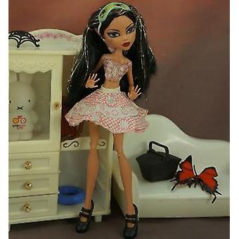 Kvalitet Monstering High Doll, Dressing Soft, Casual Wear, håndlavet tøj,