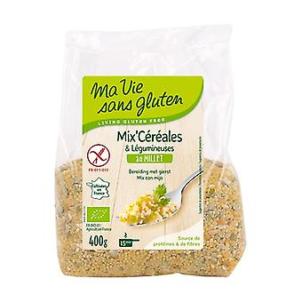 Cereal & legume mix with organic millet 400 g