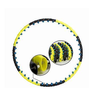 Exercice de remise en forme Hula Hoop, Massage magnétique adulte avec 8 pièces détachables