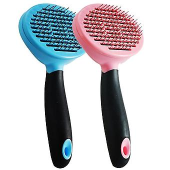 Pet comb for cats and dogs removes knots massage hairdressing tools ps06