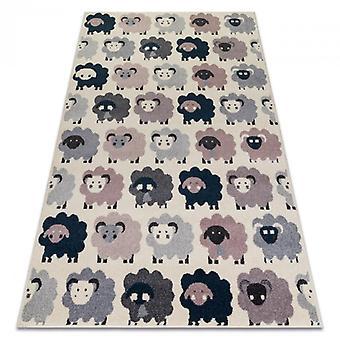 Rug HEOS 78468 cream / pink / blue / grey SHEEPS