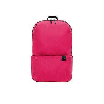 ピンクオリジナル10lバックパックバッグ女性スポーツバッグレベル4撥水旅行キャンプバックバッグミニスクールバッグdt382