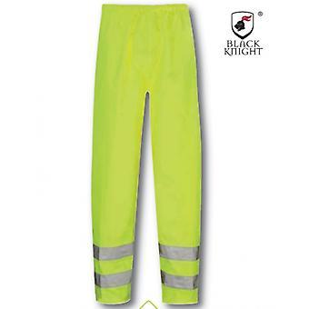 Black Knight Medium Hawk Kalhoty s vysokou viditelností - žlutá