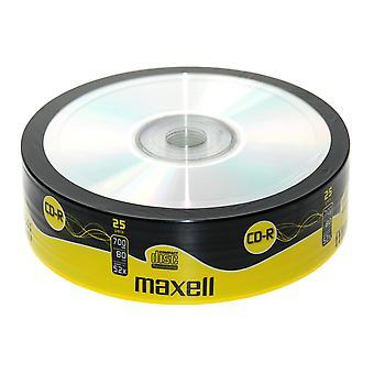 Maxell CDR 25 balenie zmršťovacie zábal