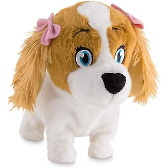 Club Petz Lola Animatronic Plush Puppy (White/Brown)