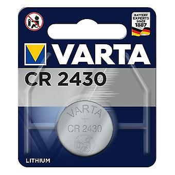 Lithium Button Cell Battery Varta 06430101401 CR2430 3 V 290 mAh