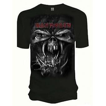 Iron Maiden Final Frontier Eddie Vintage Mens T Shirt: Sm
