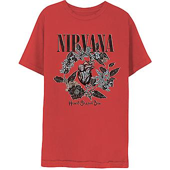 Nirvana Heart-Shaped Box Official Tee T-Shirt Unisex
