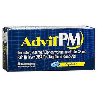 Advil Advil Pain Reliever And Nighttime Sleep Aid, 80 Caplets