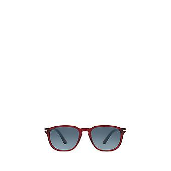 Persol PO3019S gafas de sol masculinas rojas transparentes