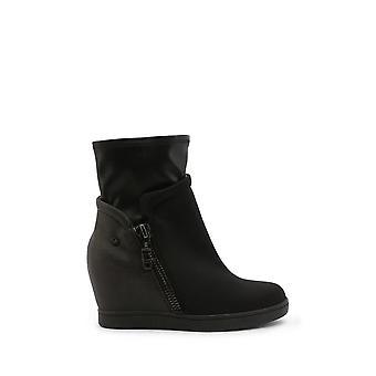 Roccobarocco - Sapatos - Botas de tornozelo - RBSC0US04TESSTD-NERO - Mulheres - Schwartz - EU 37