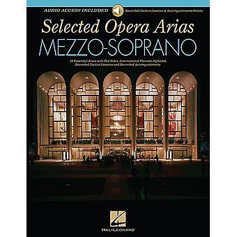 Ópera Arias selecionada -Mezzo-Soprano com Audio-Online, Schirmer