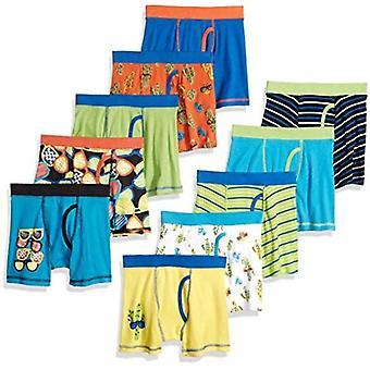 Brand - Spotted Zebra Boys Cotton Boxer Briefs Underwear