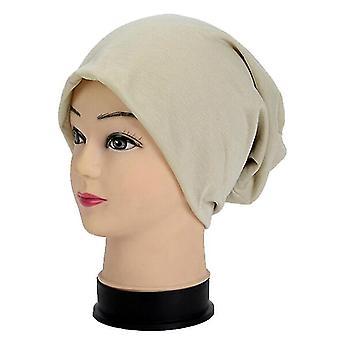 Eenvoudige trendy ademende koele solide stapel hoofddeksel gebreide hoed hiphop cap