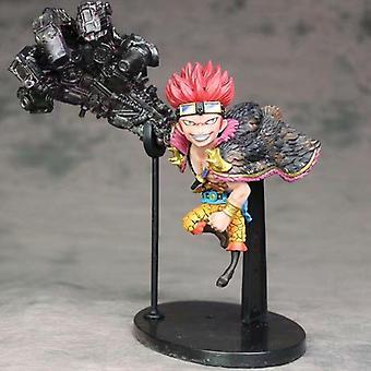 Anime ONE PIECE Eustass Kid SD Action Figure Supernova Kid Pirates Captain Figures