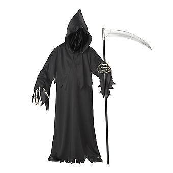 Grim Reaper Horror Faceless Master Deluxe Halloween Boys Costume
