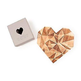 Jigsaw puzzles romantic  wooden jigsaw puzzle  valentines message for loved ones  you complete me heart shaped
