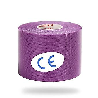 Kinesiology elastic tape for athletic recovery and pain relief(Purple)