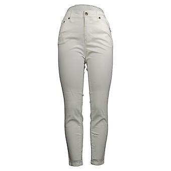 Colleen Lopez Women's Jeans Reg White Denim Skinny White 730708