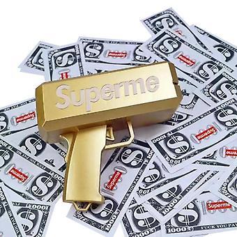 Zbraně na hraní, Ruční hotovostní pistole se 100 ks play money