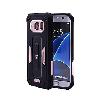 32nd Hard Defender case for Samsung Galaxy S7 Edge (SM-G935) - Rose Gold