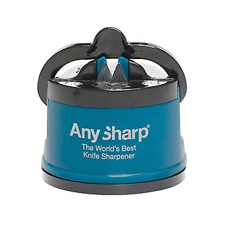 AnySharp Knife Essentials Sharpener, Blue