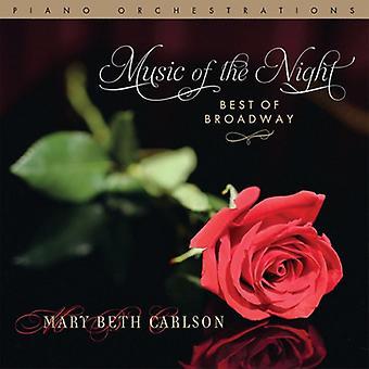Mary Beth Carlson - muziek van de nacht... Beste van Broadway [CD] USA import