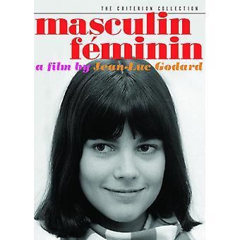 Masculin Feminin [DVD] USA import