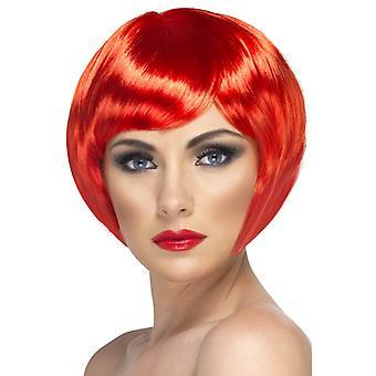 Kochanie wig, czerwony