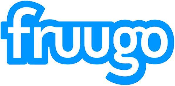 Fruugo logoklistermärke