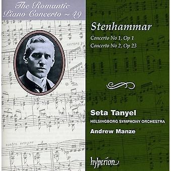 W. Stenhammar - Stenhammar: Piano Concertos Nos. 1 & 2 [CD] USA import
