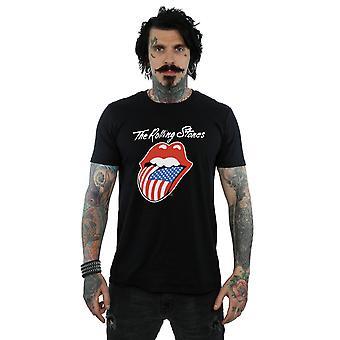 Rolling Stones amerikkalainen kielen t-paita