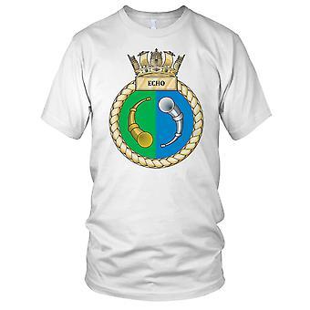 Royal Navy HMS Echo Kids T-Shirt