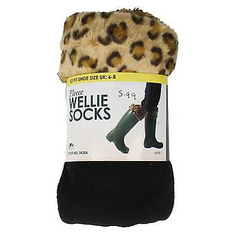 Ladies RJM Fleece Wellie Socks Style - SK206