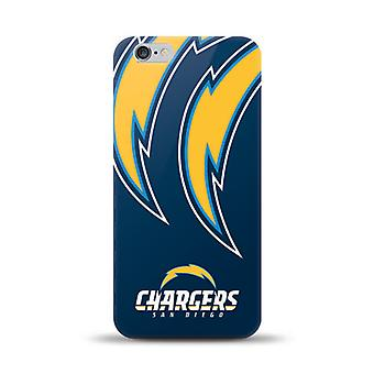 Mizco Licensed NFL TPU Gel Case for iPhone 6/6S Plus - San Diego Chargers