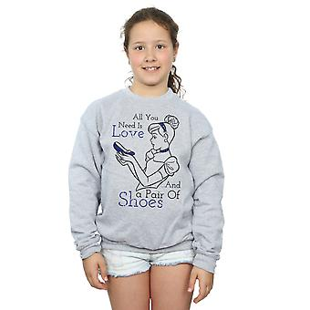 Disney Princess Girls All You Need Is Love Sweatshirt