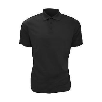 Glenmuir Mens Plain Mercerised Short Sleeve Polo Shirt