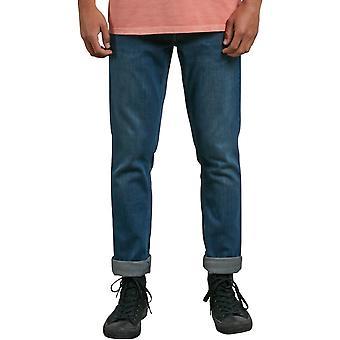 Volcom Vorta denim Slim Fit jeans i Dust Bowl Indigo