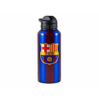 FC Barcelona Unisex a rayas firmó la botella de agua