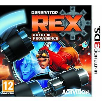 Γεννήτρια Rex πράκτορας του Πρόβιντενς (Nintendo 3DS)-νέα