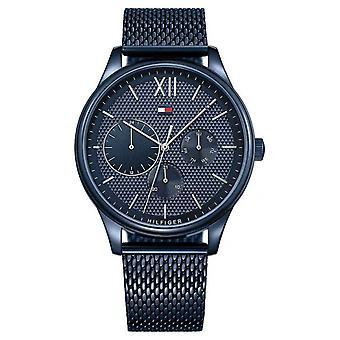 Tommy Hilfiger Damon | blue Mesh Bracelet | blue dial 1791421 Watch