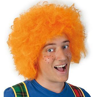 Pruik Struwwelpeter orange Goblin