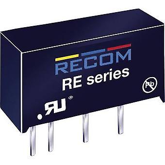 RECOM RK-2412S convertor DC/DC (Print) 24 V DC 12 V DC 83 mA 1 W nr. de ieșiri: 1 x