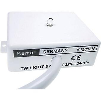 Kemo M013N Twilight switch Componente 230 V AC