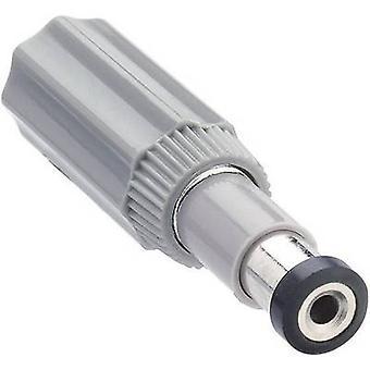Lumberg NES 1 låg strömkontakten Plug, rak 6 mm 1.98 mm 1 dator
