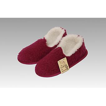 Moccasin ull bordeaux 38/39