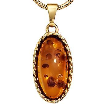 Âmbar de ouro amarelo ouro 1 Amber pingentes pingente de âmbar 375