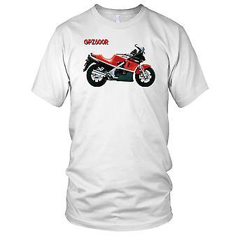 Kawasaki Gpz600R klassiske motorsykkel motorsykkel Biker Mens T skjorte